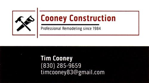 Cooney Construction