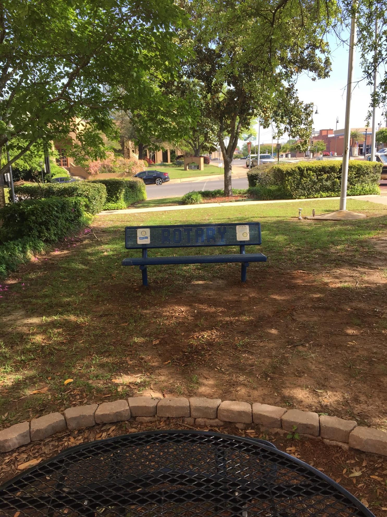These Benches Were Originally Placed At The Area Now Known As Telegraph  Park, Which Was, At The Time, A Place For Visitors To Relax And Enjoy The  Downtown ...