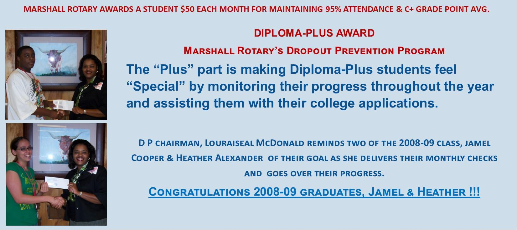 Diploma-Plus Home Page Slide