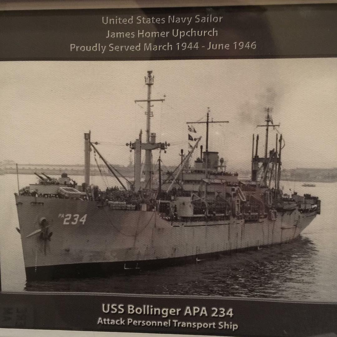 January 23rd, 2019 Third Class Petty Officer James Upchurch