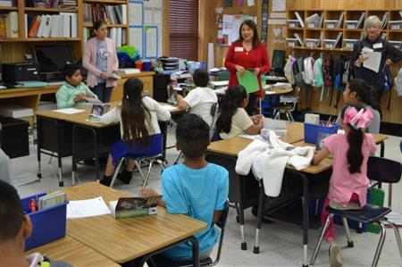 Nash Third Graders learn more about Rotary