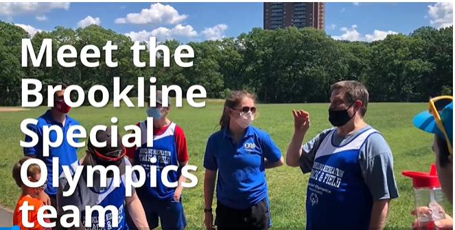 Meet the Brookline Special Olympics Team