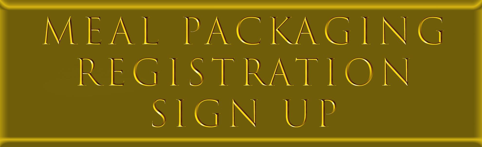 Registration signup