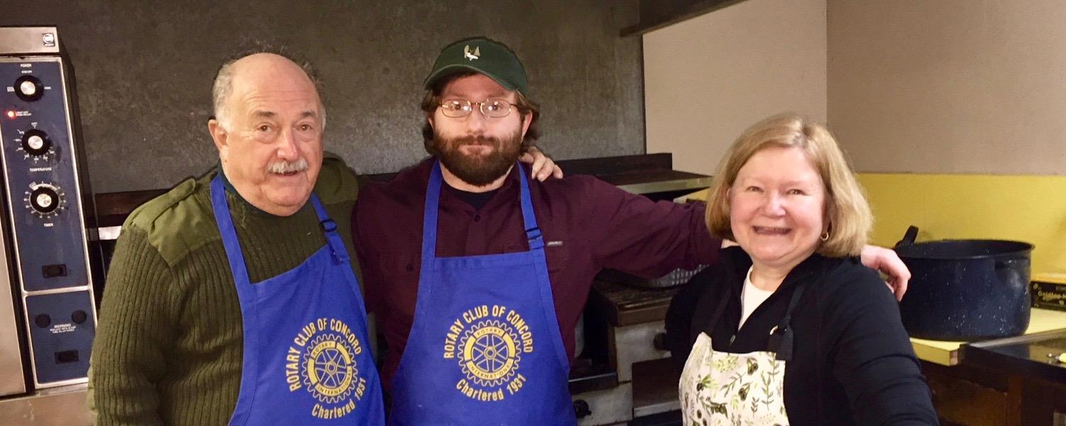 Super cooks at Bristol Lodge