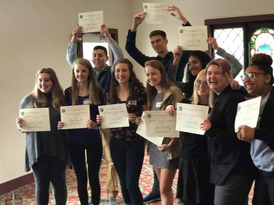 Student Scholarship Winners