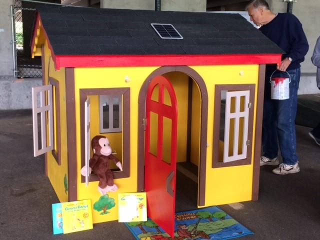 Play House for Veteran Family