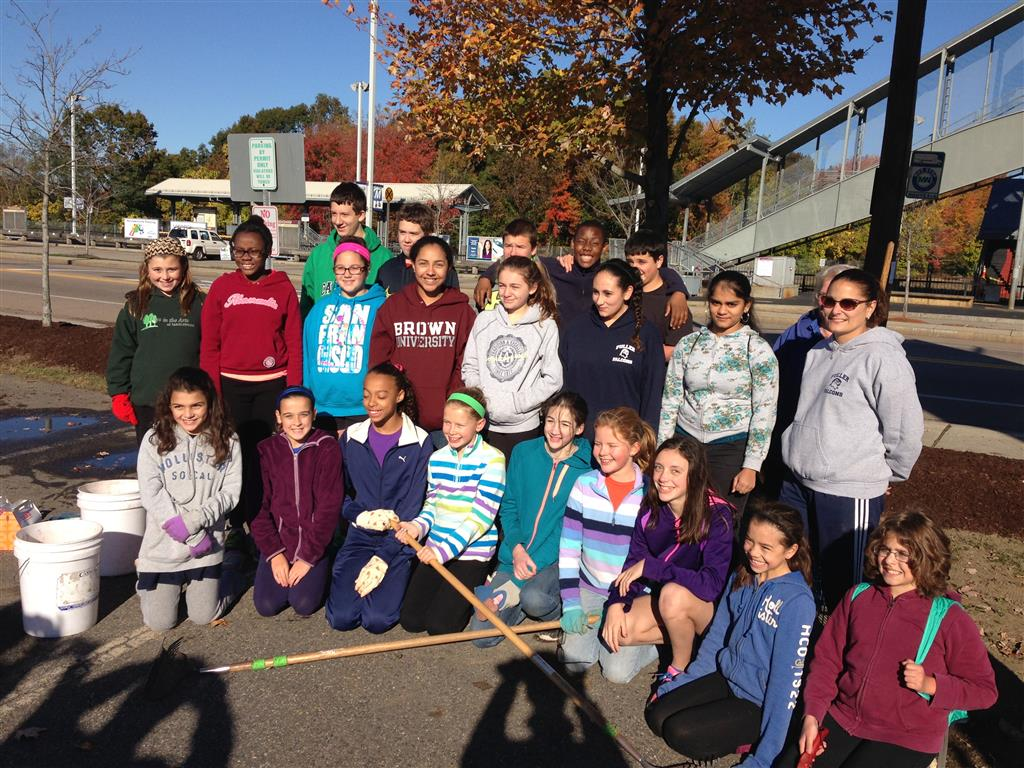 fuller middle school interact club in action