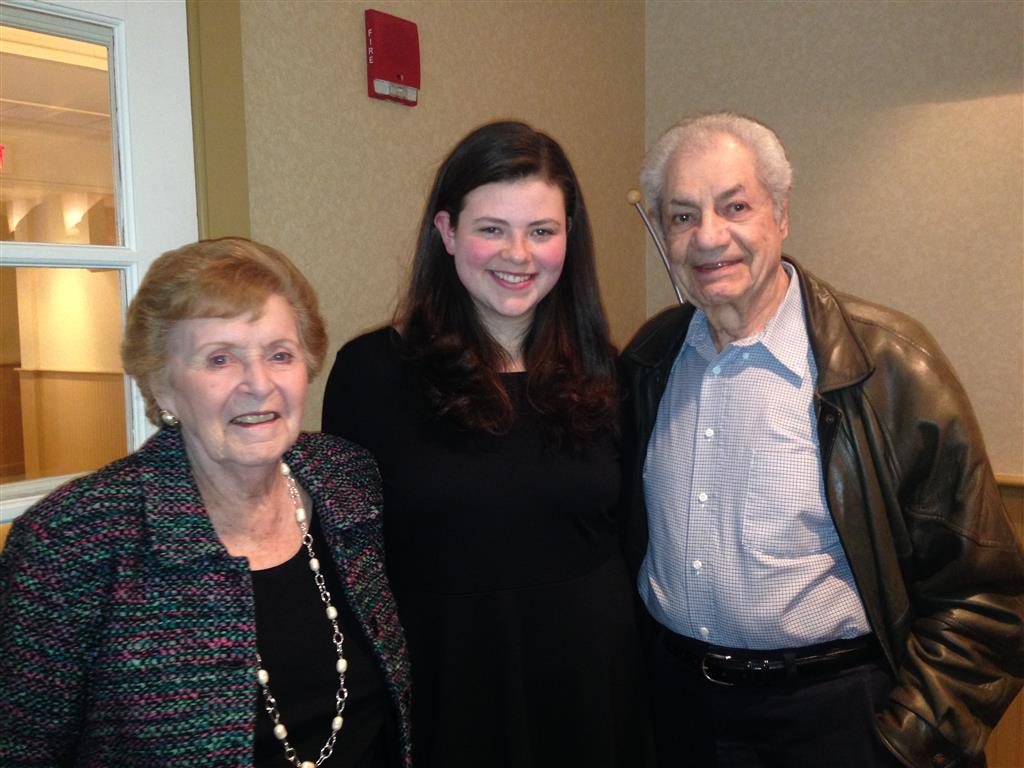 Rachael and her grandparents