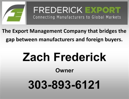 Frederick Export
