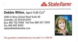 StateFarm - Debbie Wiltse
