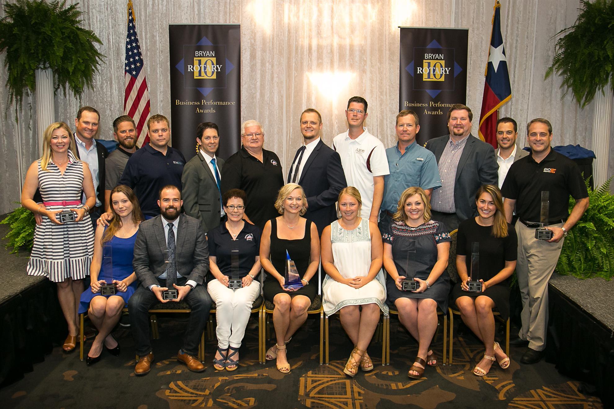 2017 Bryan Rotary 10 Winners