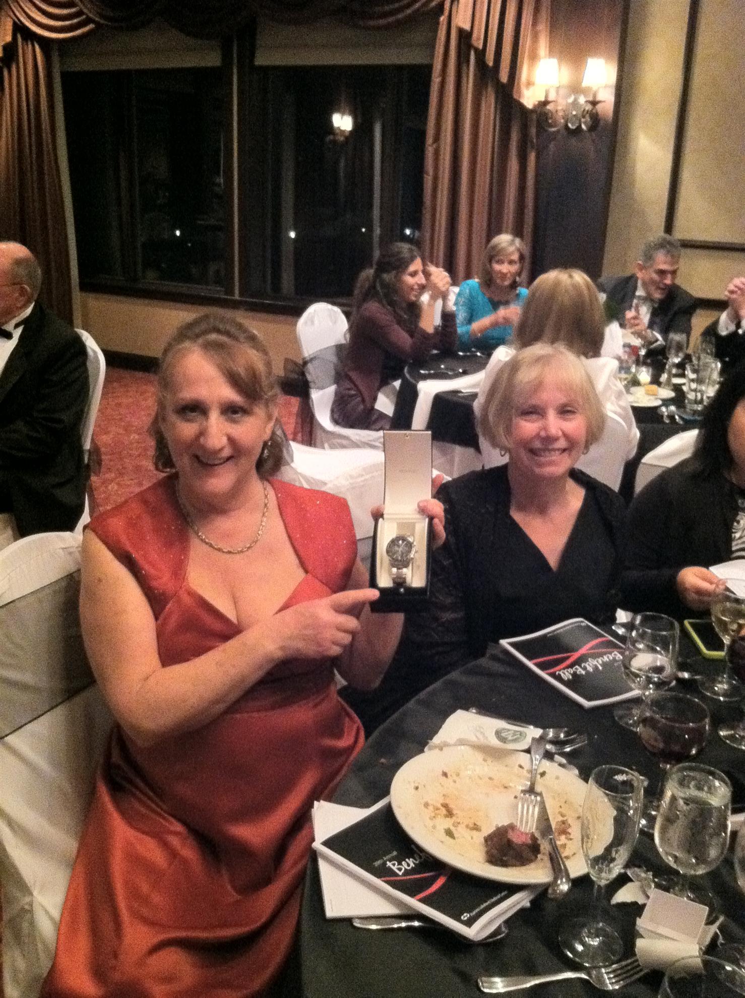 Marilyn Cayo and Denise Pieroni Attend Lakeland Benefit Ball