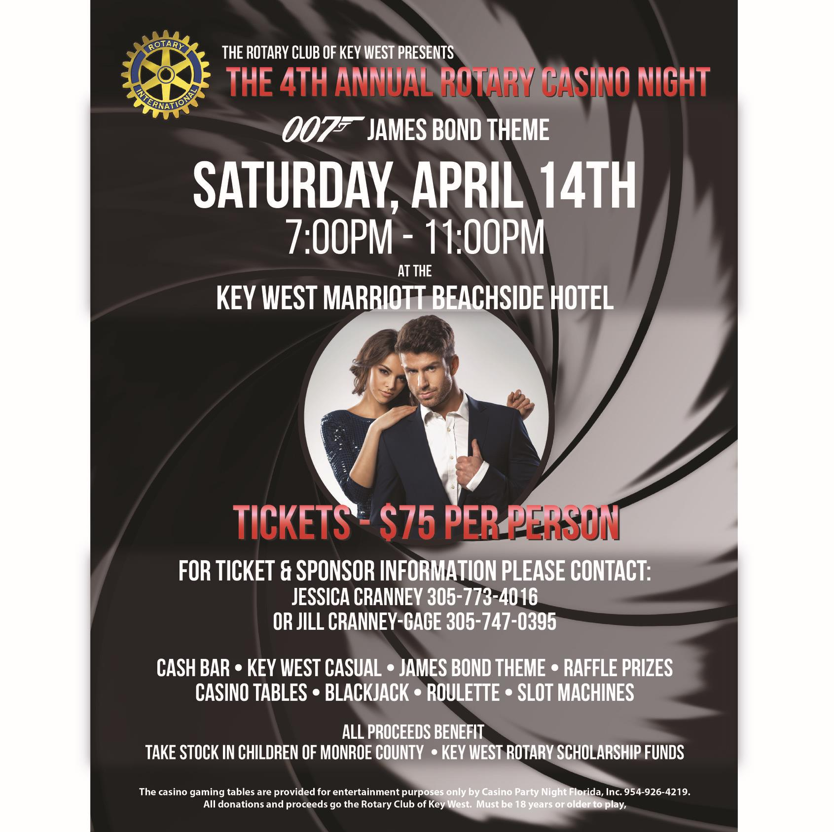 Casino Night | The Rotary Club of Key West