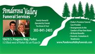 Ponderosa Valley Funeral Services