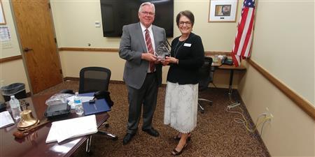Rotarian of the Year to Paula Johnson