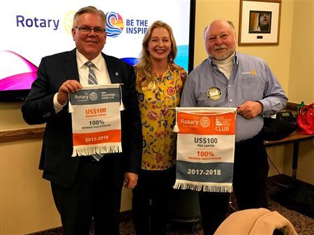Rigby Rotary Club 100%