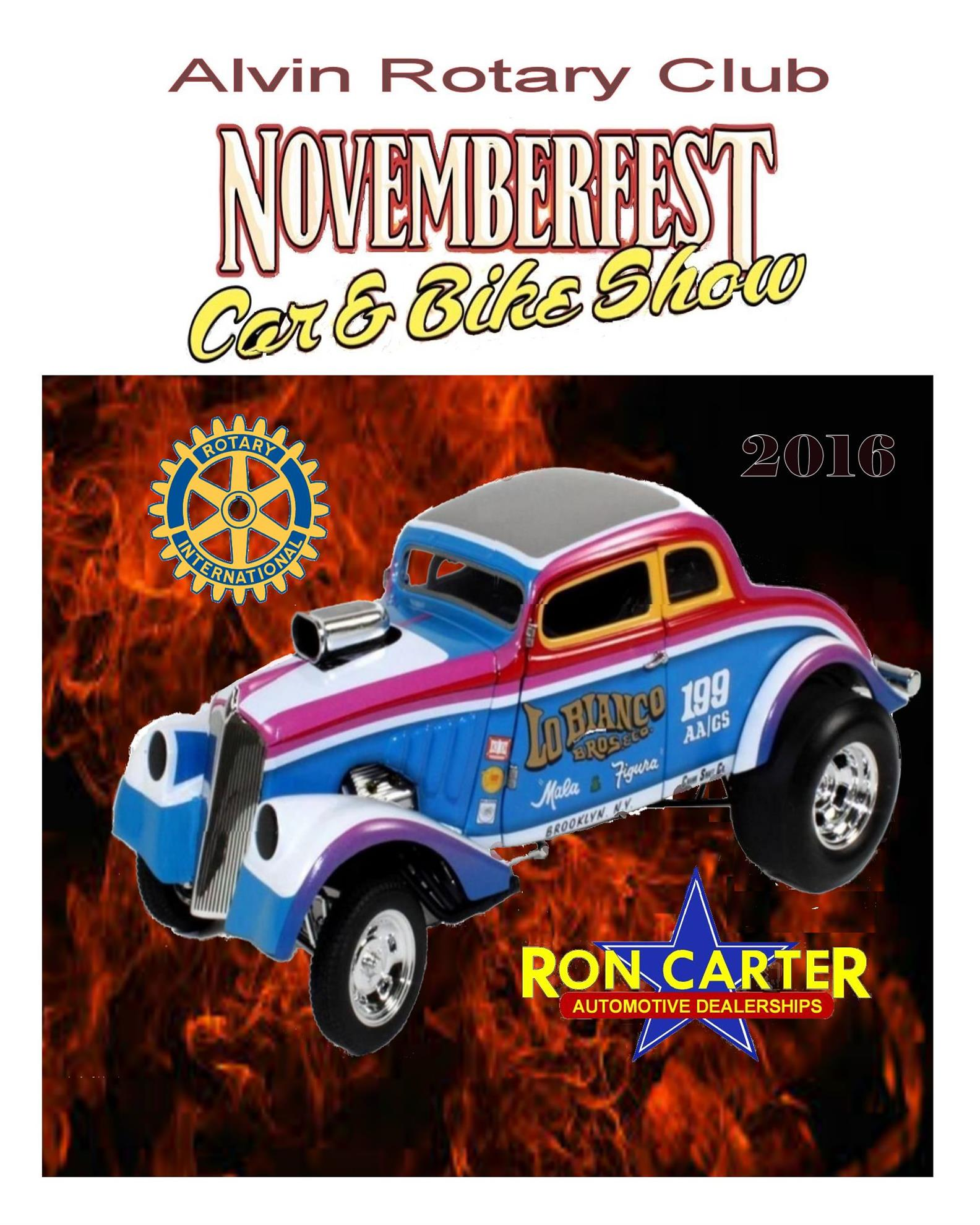 Car Show Flyer Rotary Club Of Alvin - Car show flyer