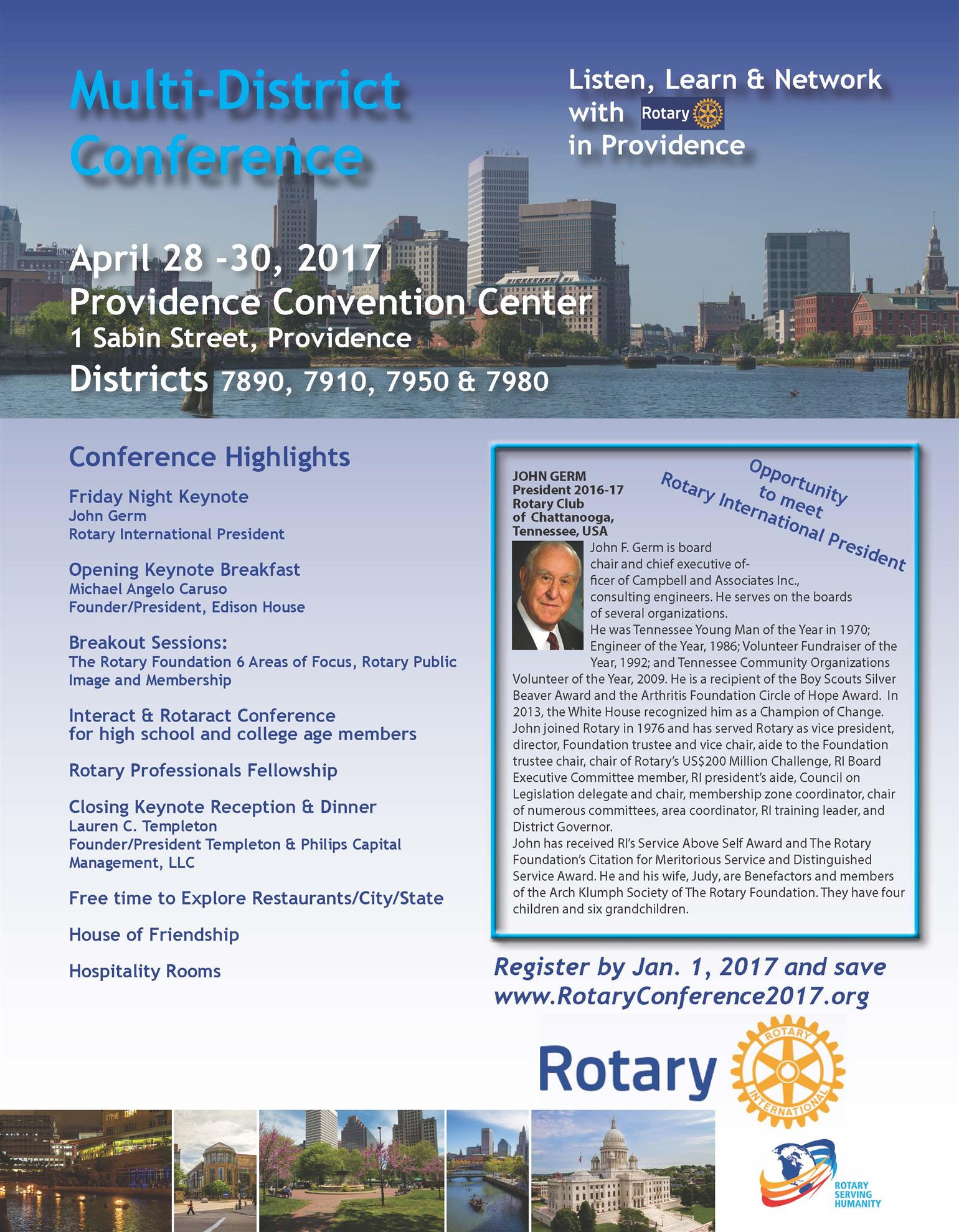 Multi-District Conference | Rotary Club of Pawtuxet Valley