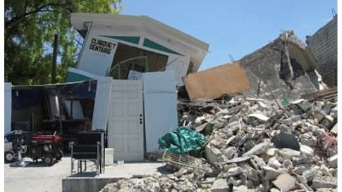 Haiti disaster relief.