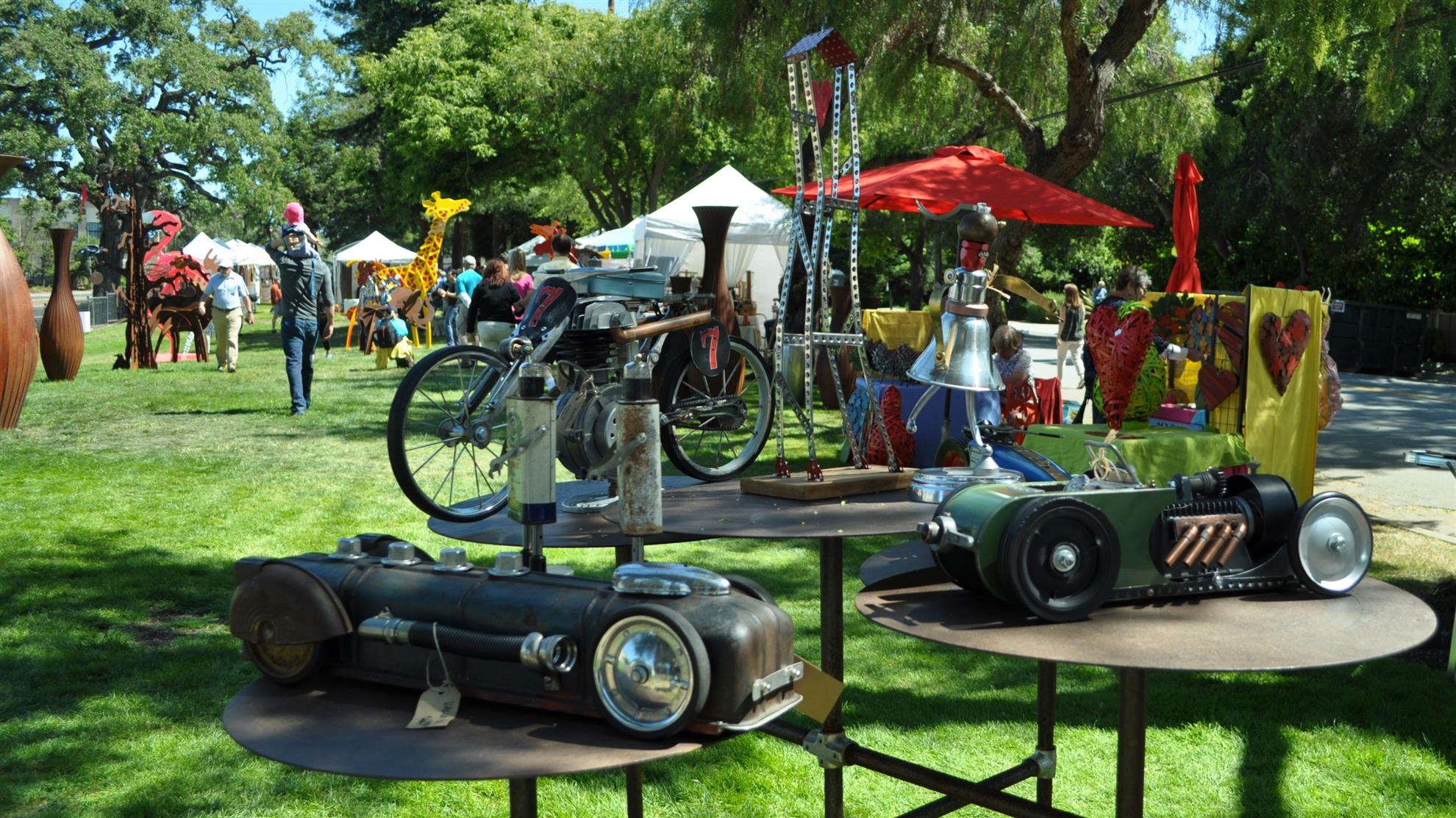 Fine Art in the Park to raise funds and build community