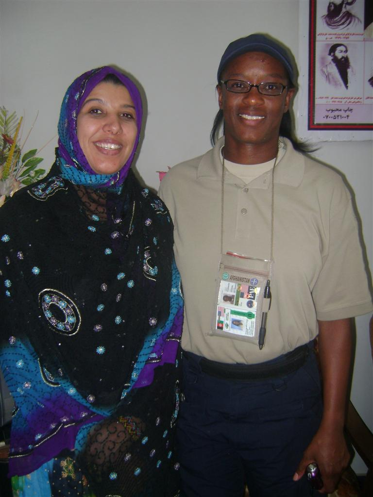 Nicole CSSP Judicial Advisor and Zubaida Language Assistant