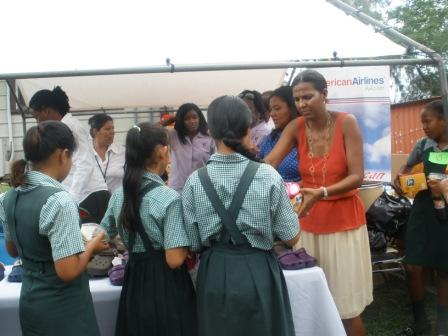 First Lady of Belize school project