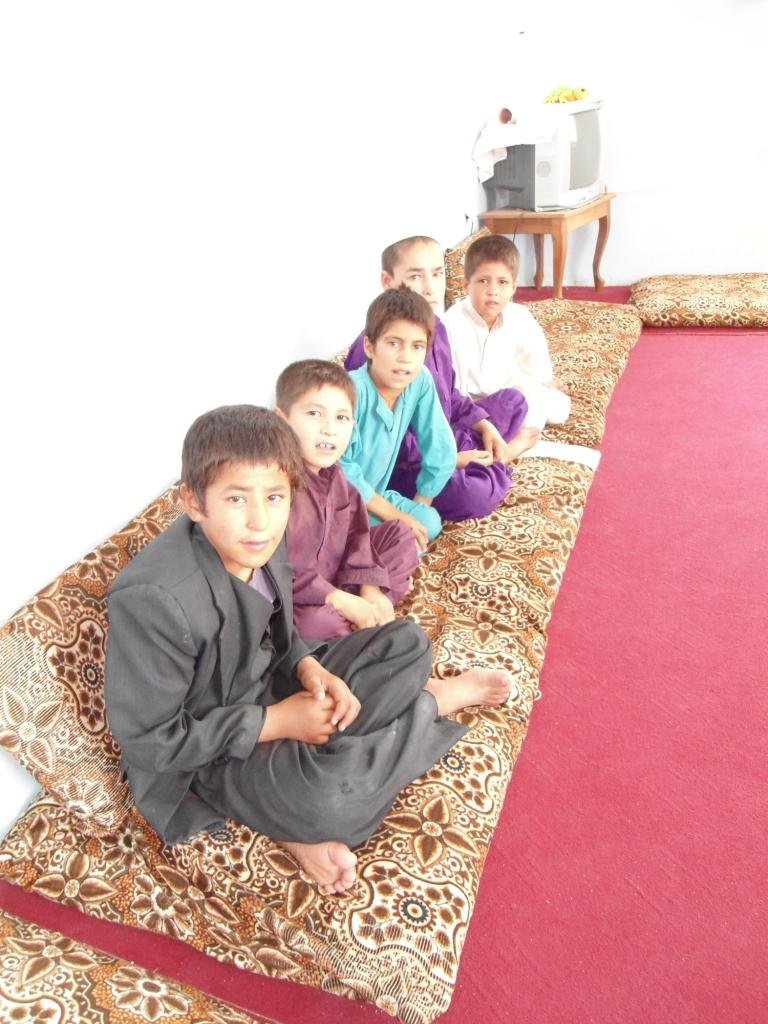 Boys at Kunduz orphange