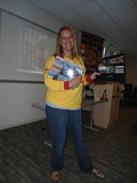 Jennifer Summers Dist 5510 GSE Team to Australia