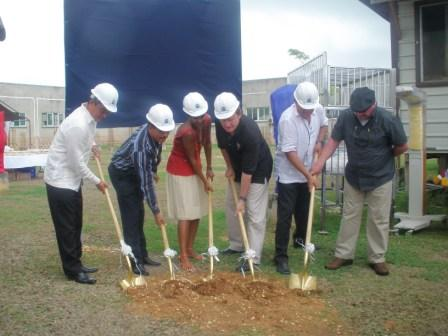 Project CURE Ped ICU groundbreaking