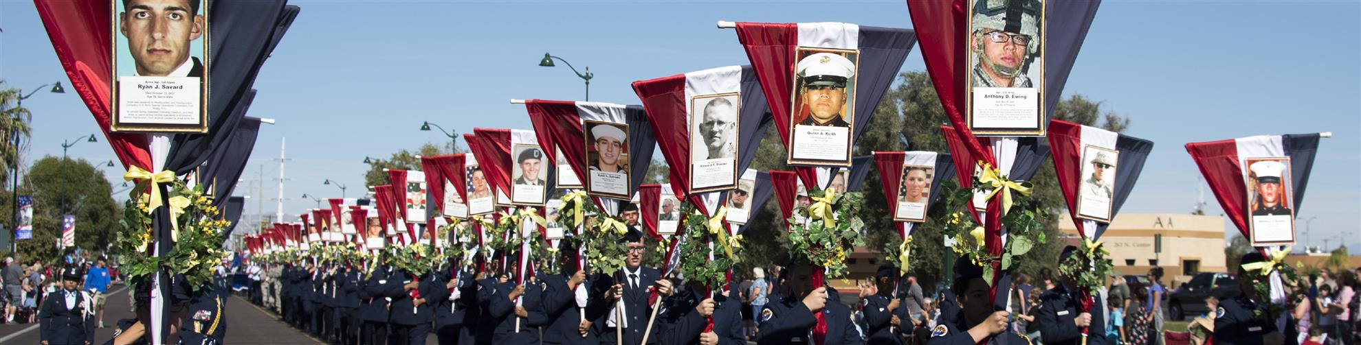 Honor fallen local heroes
