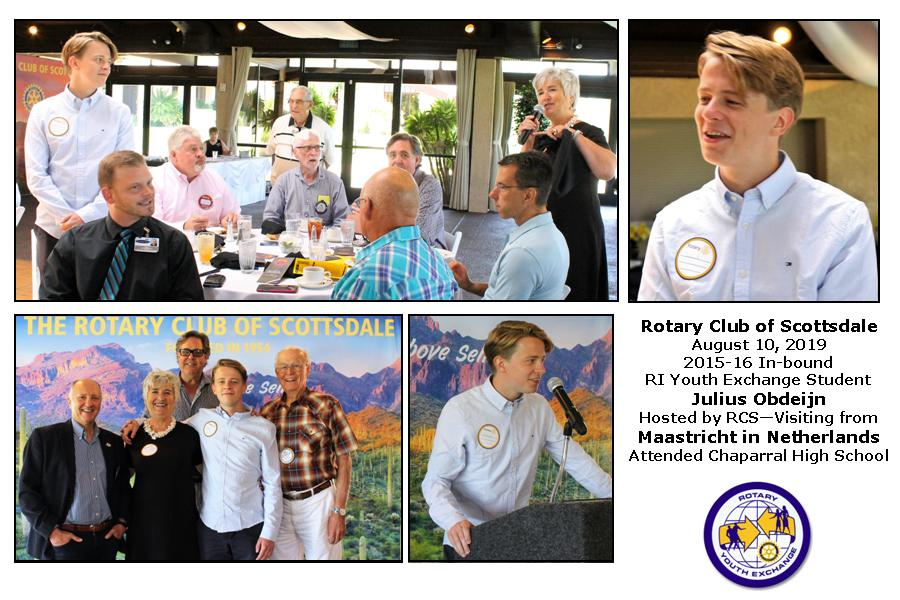 Previous Exchange Participants | Scottsdale Rotary Club