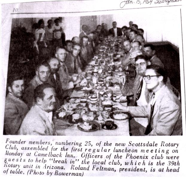 1st Meeting RCS 1954