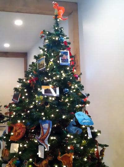 Rotary holiday tree