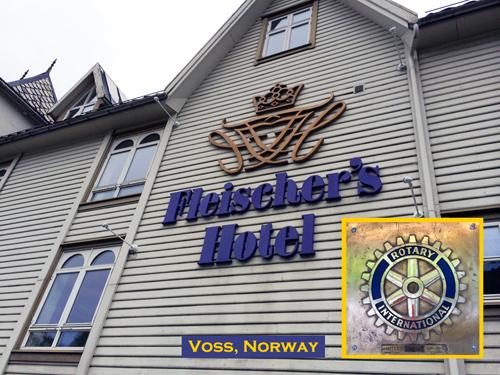 Fleischers Hotel Rotary