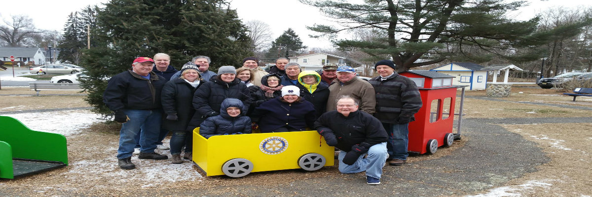 Denville Rotary Santaland Clean Up Crew 2016