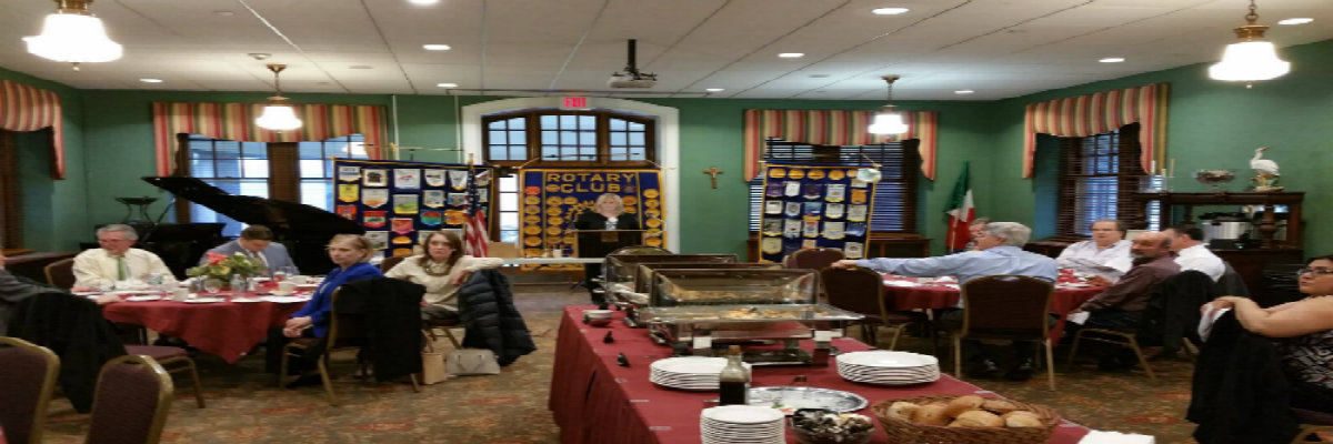 Denville Rotary Lunch Meeting at St. Francis