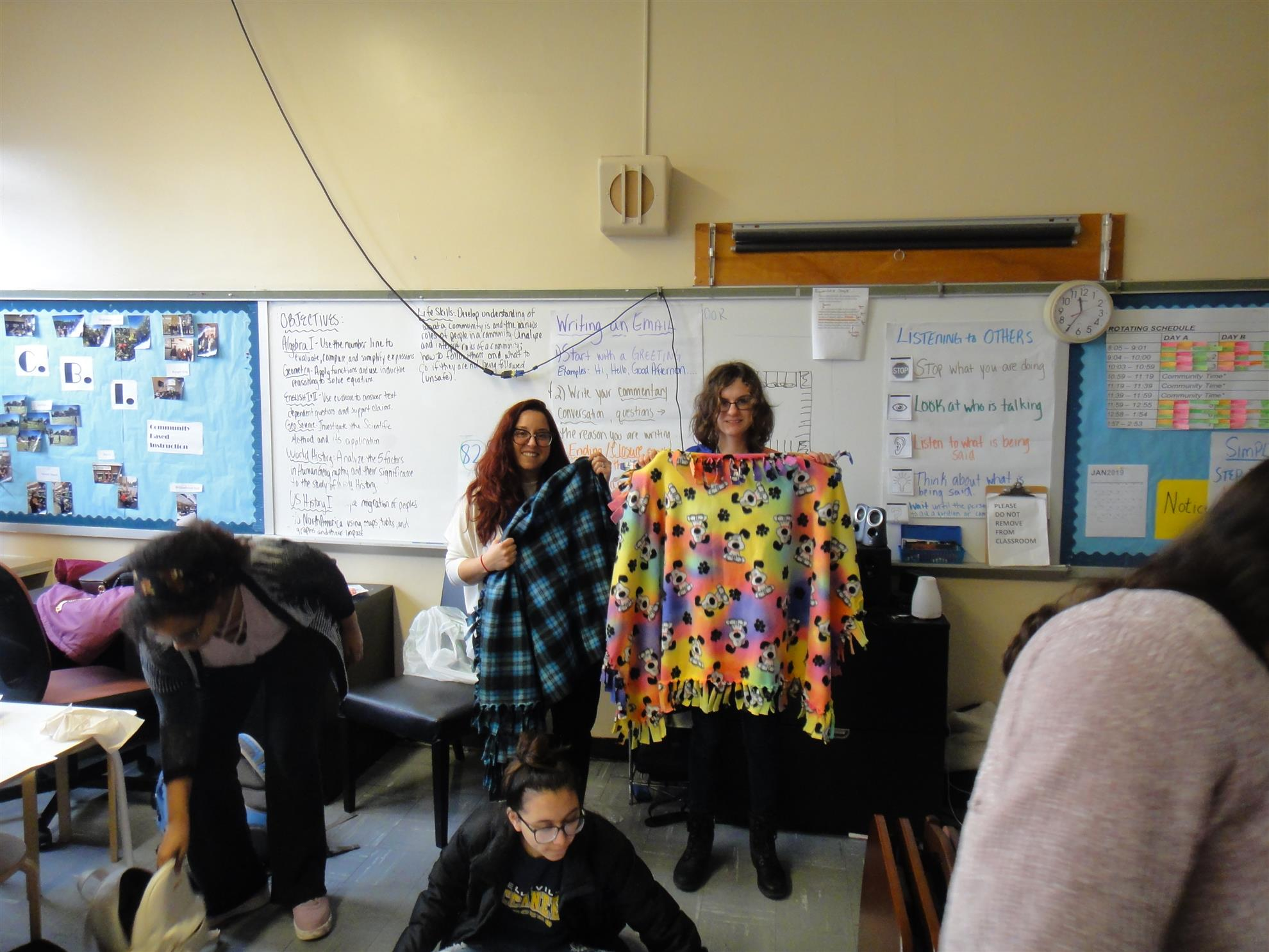 Rotary And Interact Participate In Project Linus Rotary