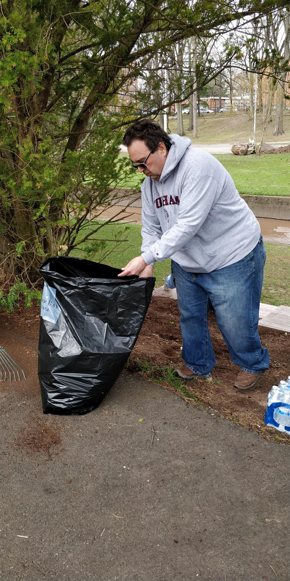world water day cleanup collaboration