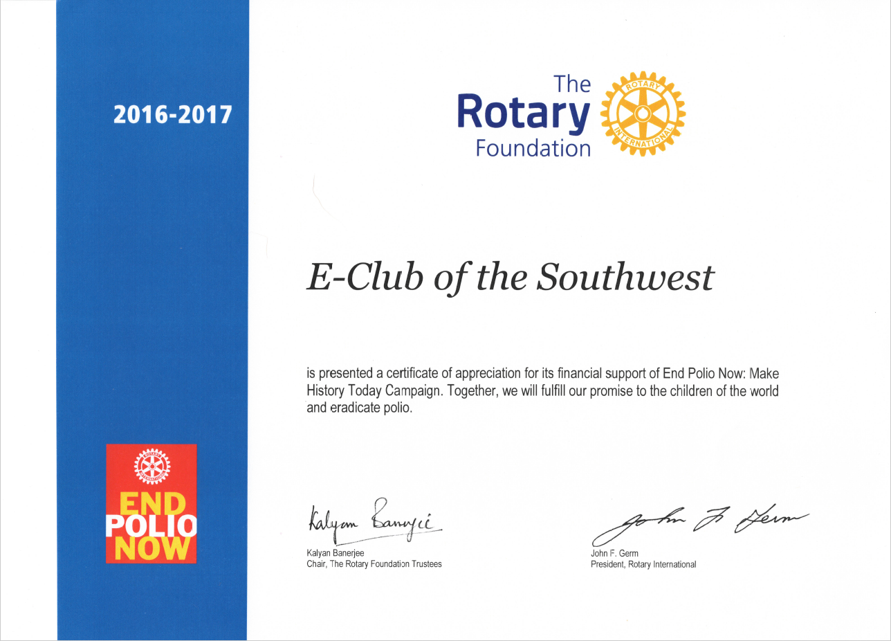 Certificate of appreciation leadership gallery for Rotary certificate of appreciation template