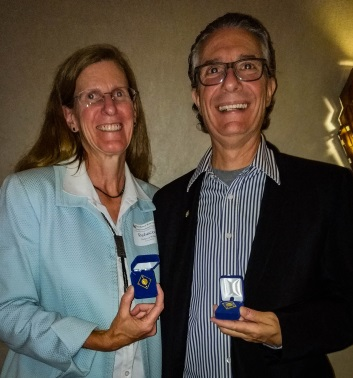 Marco Cecala & Rebecca Wilks recognized as Level 2 Major Donors