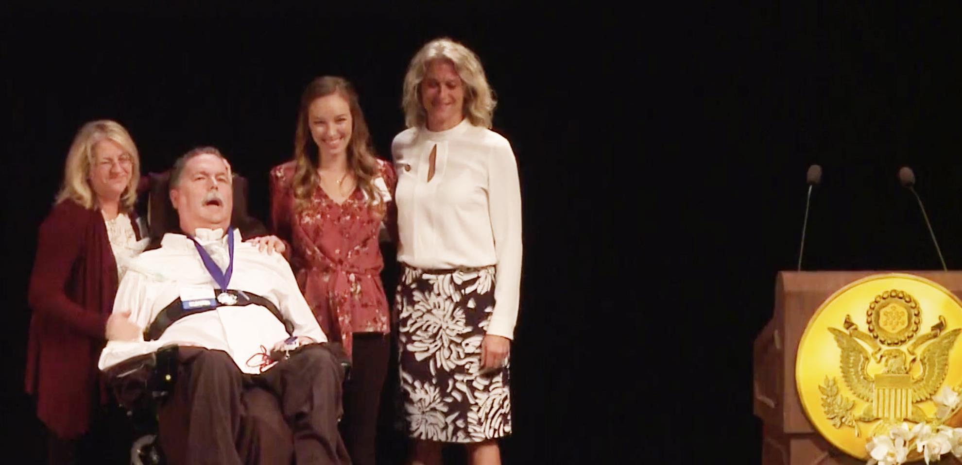 Doug McNeil Receives Jefferson Award