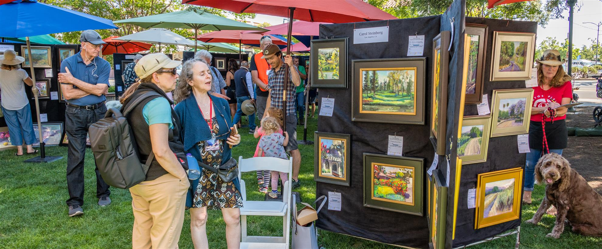 Plein Air 2019- Art Show in the Plaza