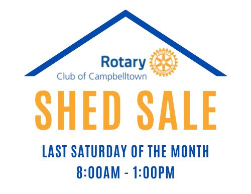 Rotary Shed Sale