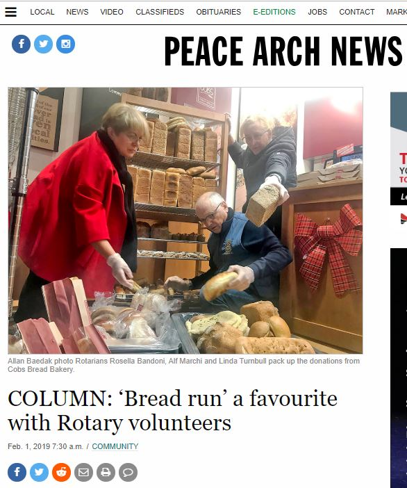 Bread Run in the News