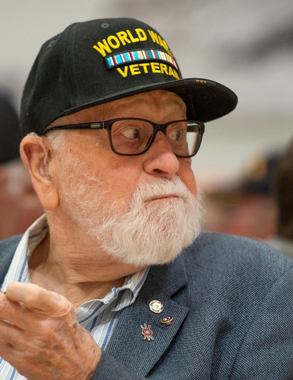 Del Raby - 2019 Veterans Day Celebration