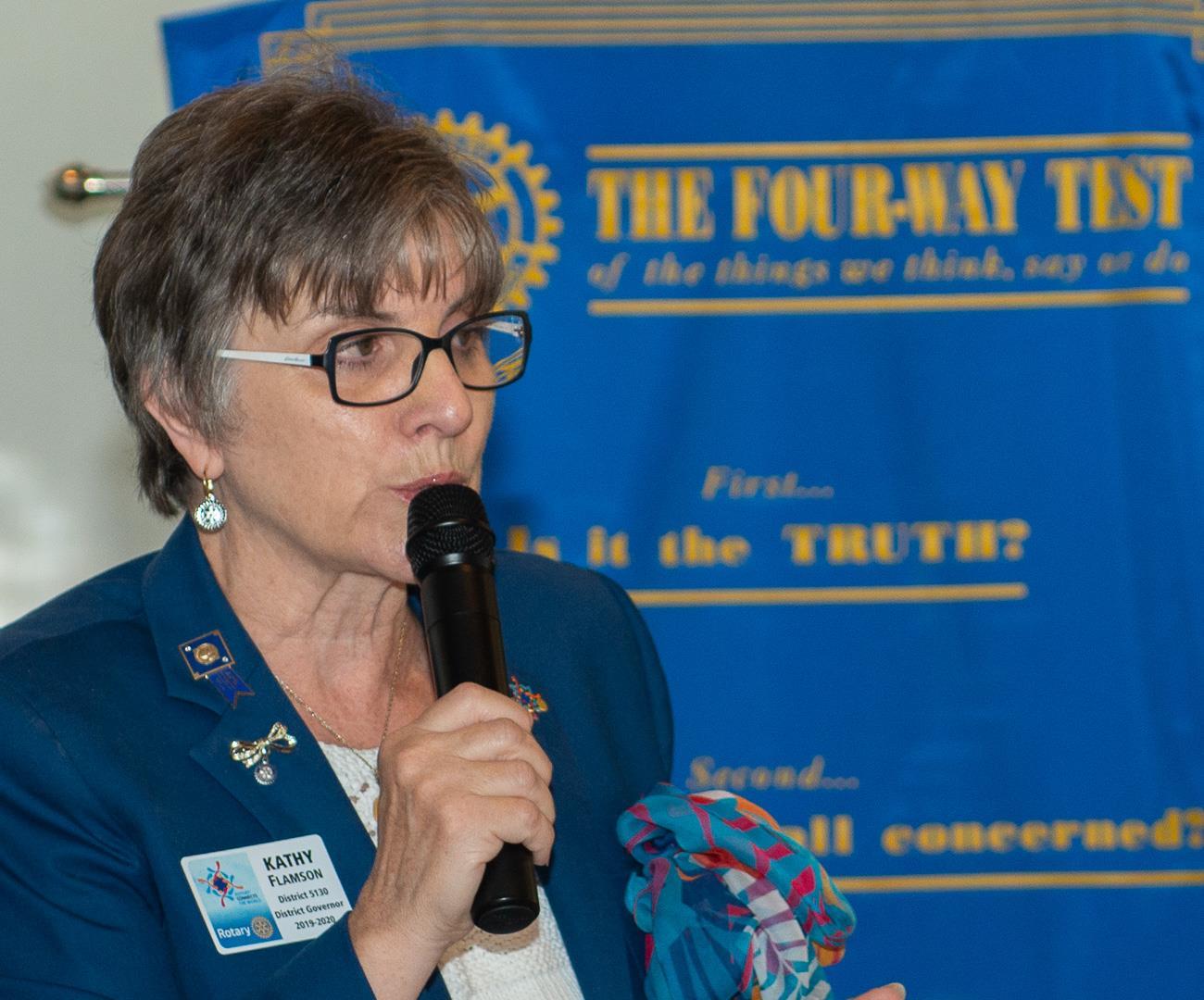 DG Kathy Flamson