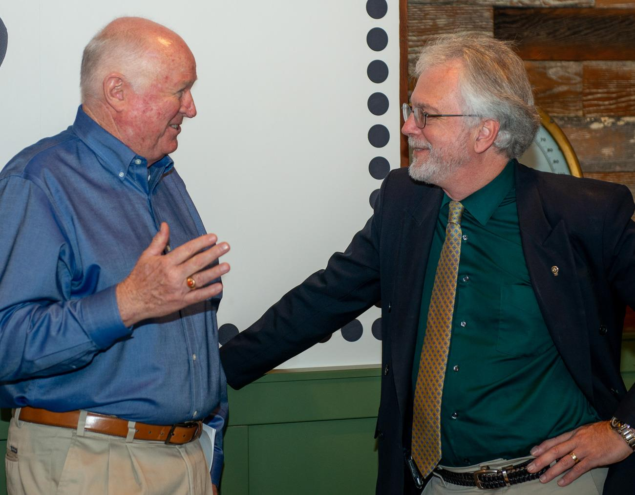 Steve Amend and Dave Lorenzen