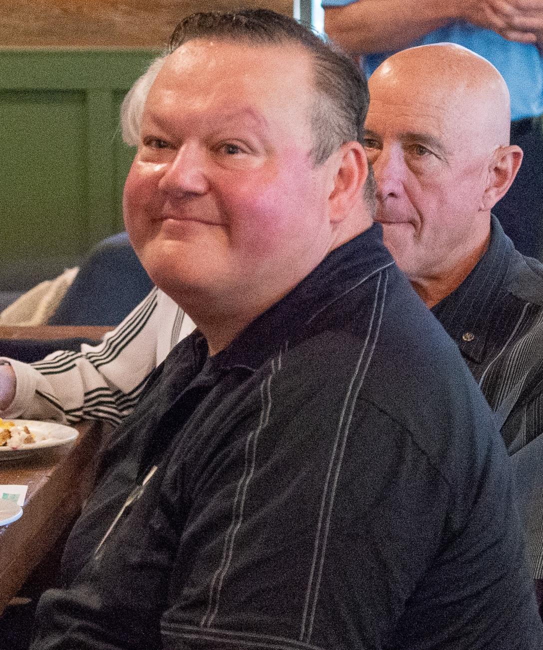 Guest and past member Jim Brenton