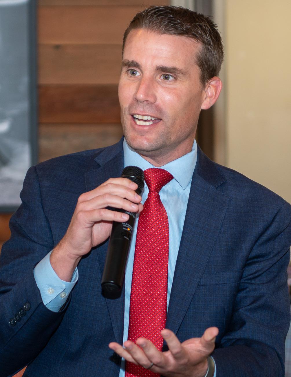 Speaker State Sen. Mike McGuire