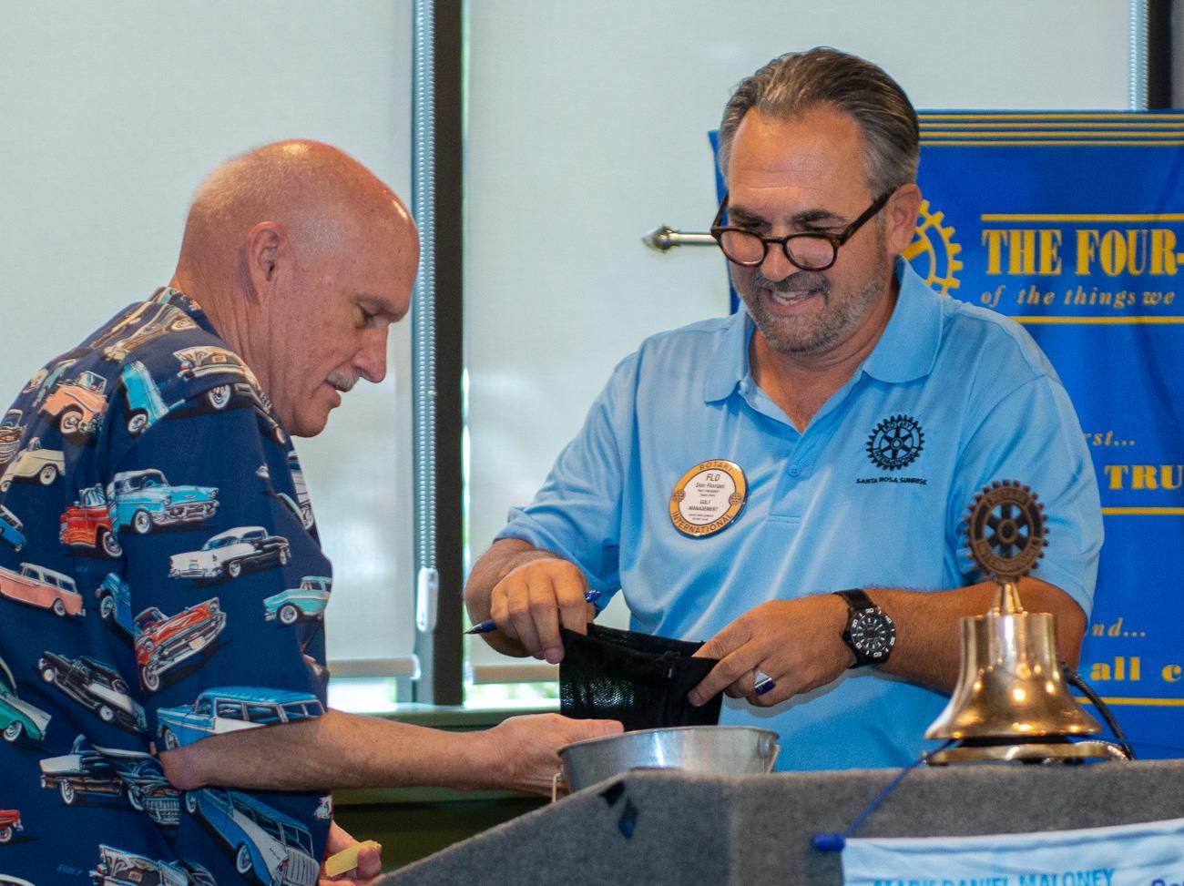 Ken Petro and Don Floriani
